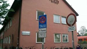 Alte Post am Bahnhof in Erding